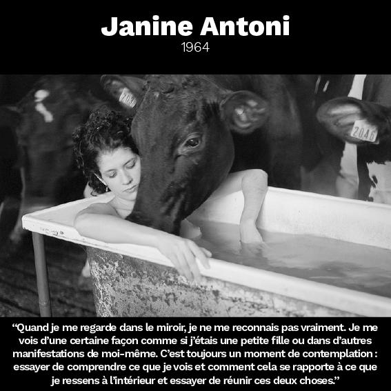 Janine Antoni citation