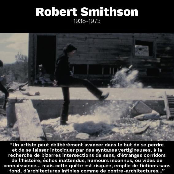 Robert Smithson citation